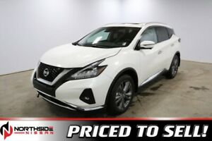 2019 Nissan Murano AWD PLATINUM HEATED SEATS, 20 WHEELS, APPLE C
