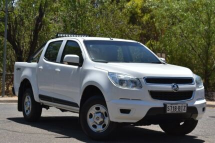 2015 Holden Colorado RG MY15 LS Crew Cab 4x2 White 6 Speed Sports Automatic Cab Chassis St Marys Mitcham Area Preview
