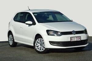 2013 Volkswagen Polo 6R MY13.5 Trendline White 5 Speed Manual Hatchback Kedron Brisbane North East Preview
