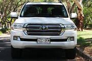 2016 Toyota Landcruiser VDJ200R Sahara White 6 Speed Sports Automatic Wagon Hawthorn Mitcham Area Preview