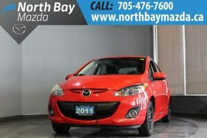 2011 Mazda Mazda2 GS with Cruise, A/C, Brake Service Done