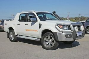 2011 Ford Ranger PK Wildtrak Crew Cab White 5 Speed Automatic Utility Pearsall Wanneroo Area Preview