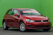 2015 Volkswagen Golf VII MY15 90TSI DSG Red 7 Speed Sports Automatic Dual Clutch Hatchback Ringwood East Maroondah Area Preview