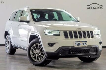 2016 Jeep Grand Cherokee WK MY15 Laredo 4x2 White 8 Speed Sports Automatic Wagon