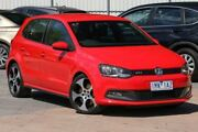 2013 Volkswagen Polo 6R MY13.5 GTI DSG Red 7 Speed Sports Automatic Dual Clutch Hatchback Ferntree Gully Knox Area Preview