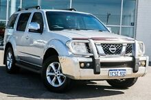 2008 Nissan Pathfinder R51 MY08 ST-L Silver 5 Speed Sports Automatic Wagon Bayswater Bayswater Area Preview