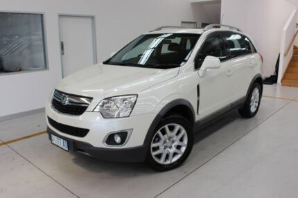 2012 Holden Captiva CG Series II 5 White 6 Speed Sports Automatic Wagon Moonah Glenorchy Area Preview
