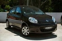 2011 Nissan Micra K13 ST Black 4 Speed Automatic Hatchback Meadowbank Ryde Area Preview