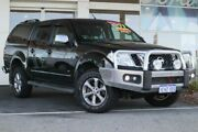 2013 Nissan Navara D40 S5 MY12 ST-X Black 7 Speed Sports Automatic Utility Clarkson Wanneroo Area Preview