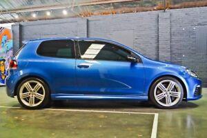 2010 Volkswagen Golf VI MY11 R 4MOTION Blue 6 Speed Manual Hatchback