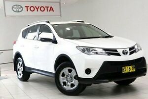 2013 Toyota RAV4 ZSA42R MY14 GX 2WD Glacier White 7 Speed Constant Variable Wagon Waterloo Inner Sydney Preview