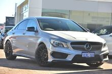 2014 Mercedes-Benz CLA45 C117 AMG SPEEDSHIFT DCT 4MATIC White 7 Speed Sports Automatic Dual Clutch C Osborne Park Stirling Area Preview