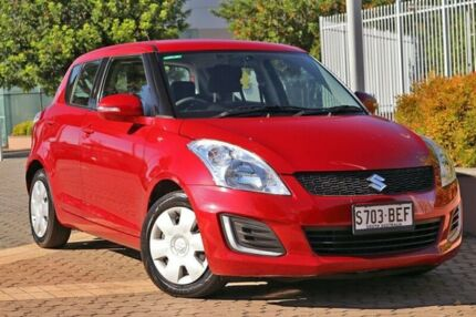 2014 Suzuki Swift FZ MY14 GL Red 4 Speed Automatic Hatchback Wayville Unley Area Preview
