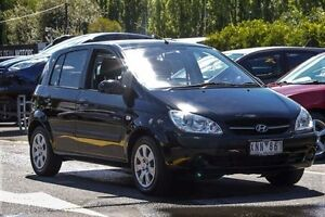 2009 Hyundai Getz TB MY09 S 4 Speed Automatic Hatchback Ringwood East Maroondah Area Preview