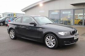 BMW 1 SERIES 2.0 123D SE 2d 202 BHP - 360 SPIN ON WEBSITE (black) 2008