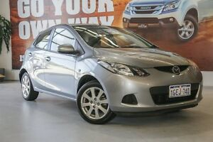 2009 Mazda 2 DE10Y1 Maxx Silver 4 Speed Automatic Hatchback Hillman Rockingham Area Preview