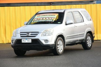 2005 Honda CR-V RD MY2005 Sport 4WD Silver 5 Speed Automatic Wagon Cheltenham Kingston Area Preview