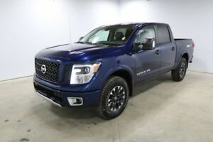 2018 Nissan Titan 4X4 PRO-4X CREW CAB Back-up Cam, Bluetooth, He