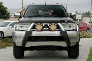 2009 Mitsubishi Challenger PB (KH) MY10 LS Black 5 Speed Manual Wagon