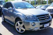 2011 Mercedes-Benz ML350 W164 MY10 AMG Sports Silver 7 Speed Sports Automatic Wagon Pearce Woden Valley Preview
