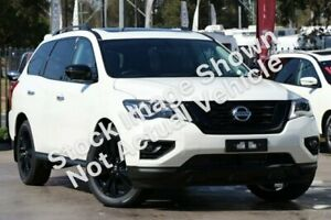 2018 Nissan Pathfinder R52 Series II MY17 ST-L X-tronic 2WD N-SPORT White 1 Speed Constant Variable Watsonia Banyule Area Preview