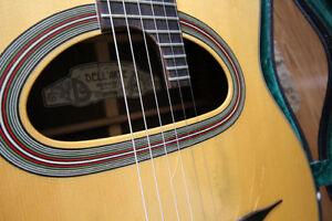 Dell Arte Anouman handmade gypsy jazz guitar