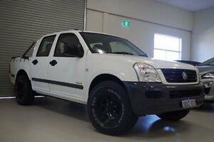 2005 Holden Rodeo RA MY05 LX Crew Cab White 5 Speed Manual Utility Myaree Melville Area Preview