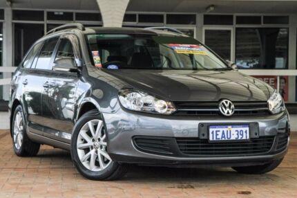2012 Volkswagen Golf VI MY12.5 77TDI DSG Trendline Grey 7 Speed Sports Automatic Dual Clutch Wagon
