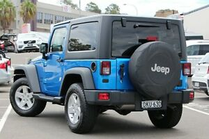 2015 Jeep Wrangler JK MY15 Sport (4x4) Hydro Blue 5 Speed Automatic Softtop Dee Why Manly Area Preview