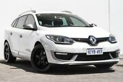 2016 Renault Megane III K95 Phase 2 GT-Line Sportwagon EDC White 6 Speed Bellevue Swan Area Preview