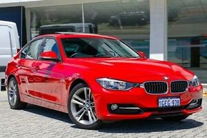 2012 BMW 320D F30 Red 8 Speed Sports Automatic Sedan St James Victoria Park Area Preview