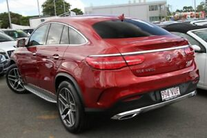 2015 Mercedes-Benz GLE350 C292 d Coupe 9G-Tronic 4MATIC Red 9 Speed Sports Automatic Wagon