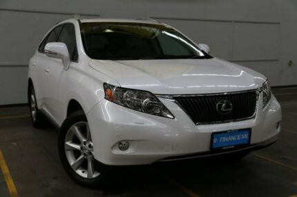2011 Lexus RX350 GGL15R MY11 Sports Luxury White 6 Speed Sports Automatic Wagon Brooklyn Brimbank Area Preview