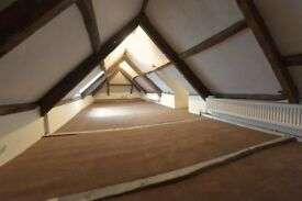 Converted, fully furnished loft room in beautiful riverside location - ideal for a single person