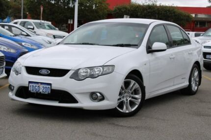 2009 Ford Falcon FG XR6 White 5 Speed Sports Automatic Sedan Midland Swan Area Preview