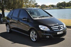 2010 Mercedes-Benz B180 245 MY10 Black 7 Speed CVT Auto Sequential Hatchback Five Dock Canada Bay Area Preview