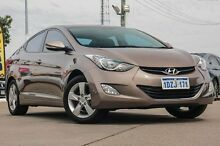 2012 Hyundai Elantra MD Elite Gold 6 Speed Sports Automatic Sedan Bellevue Swan Area Preview