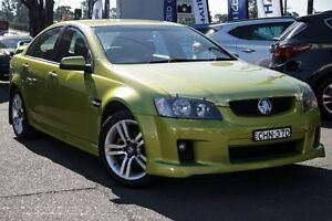 2008 Holden Commodore VE SV6 Yellow 6 Speed Manual Sedan Kings Park Blacktown Area Preview