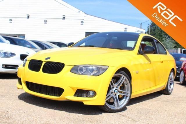 2012 61 BMW 3 SERIES 3.0 335I M SPORT 2D AUTO 302 BHP - RAC DEALER