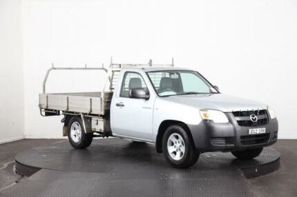2008 Mazda BT-50 B2500 DX Silver 5 Speed Manual Cab Chassis
