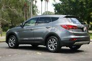 2012 Hyundai Santa Fe DM MY13 Elite Grey 6 Speed Sports Automatic Wagon Slacks Creek Logan Area Preview