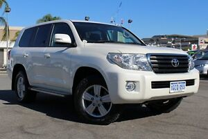 2013 Toyota Landcruiser VDJ200R MY13 Altitude Crystal Pearl 6 Speed Sports Automatic Wagon Northbridge Perth City Area Preview