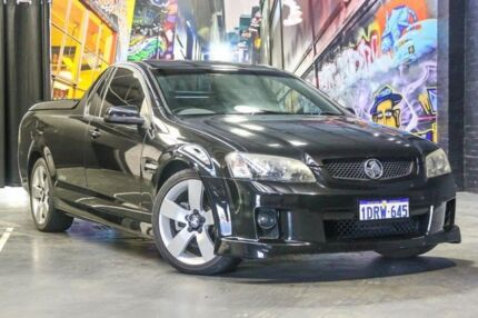 2009 Holden Ute VE MY09.5 SS V Black 6 Speed Sports Automatic Utility