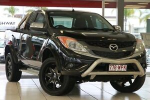 2014 Mazda BT-50 UP0YF1 XTR Freestyle Black 6 Speed Sports Automatic Utility Springwood Logan Area Preview