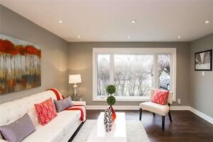 Fully Reno'd Detach Bungalow on Steeles/Bramlea with 2 br bsmnt
