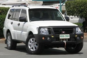 2014 Mitsubishi Pajero NW MY14 GLX White 5 Speed Manual Wagon Acacia Ridge Brisbane South West Preview