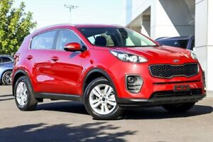 2017 Kia Sportage QL MY17 Si 2WD Red 6 Speed Sports Automatic Wagon Kirrawee Sutherland Area Preview