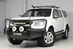 2014 Holden Colorado RG MY15 LTZ Crew Cab White 6 Speed Sports Automatic Utility Wadalba Wyong Area Preview