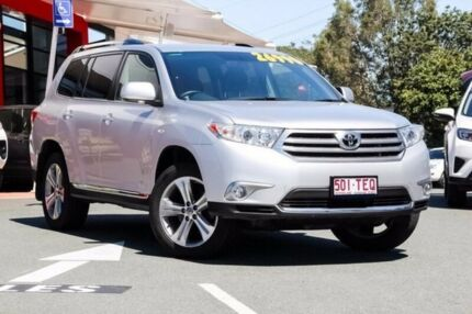 2013 Toyota Kluger GSU45R MY12 KX-S AWD Silver 5 Speed Sports Automatic Wagon
