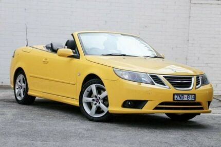 2008 Saab 9-3 442 MY2008 Linear BioPower Yellow 5 Speed Sports Automatic Convertible